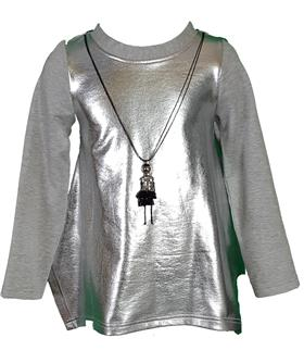 Daga Girls Tunic Top & Leggings M6933-BEA03-18 GR