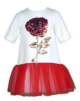 Daga Girls Dress M6913-18 CR