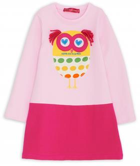 Agatha Ruiz girls winter dress VE3107-18 multi