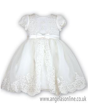 Sarah Louise Christening Dress 070012-9400 Ivory