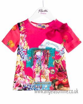 Rosalita Senorita girls T-shirt & Skirt set CINNAMON 2-3-19