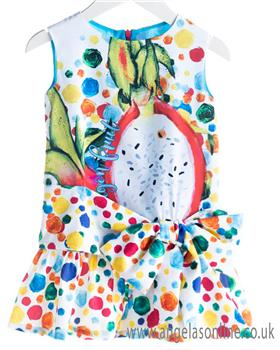 Rosalita Senorita girls dress PAPAYA 1-19