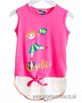 Rosalita Senorita girls top & legging set BANANA 2-5-19
