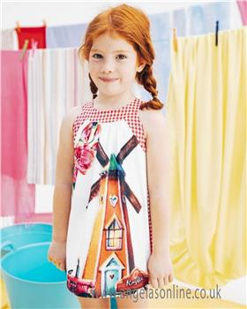 Rosalita Senorita girls dress MUSHROOMS 1-19