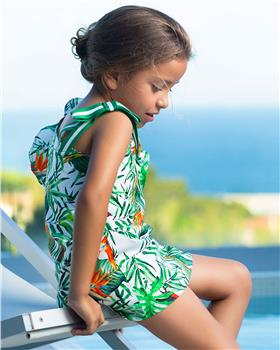 Tutto Piccolo girls dress 6246-19 Green