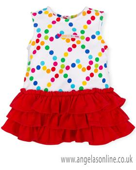 Agatha Ruiz girls dress 7226-19 A/S