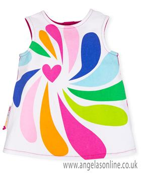 Agatha Ruiz girls dress 7225-19 A/S