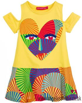 Agatha Ruiz Girls Africa dress 7VE3161-19