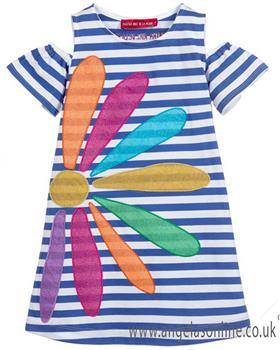 Agatha Ruiz girls summer lines dress 7VE3167-19