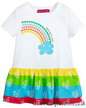Agatha Ruiz girls summer dress 7VE3175-19
