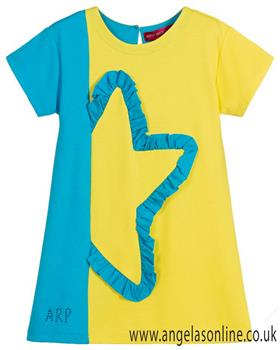 Agatha Ruiz girls wave dress 7VE3182-19