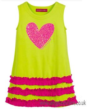 Agatha Ruiz girls wave dress 7VE3183-19