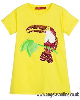 Agatha Ruiz girls summer lines dress 7VE3207-19