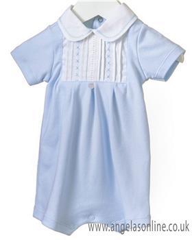 Blues baby boys romper RR0155-19 Bl/Wh