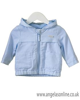Bluesbaby boys hooded jacket RR0006-19 Blue