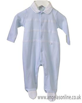 Blues baby boys romper RR0145-19 blue