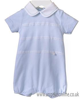 Blues baby boys romper RR0146-19 Blue