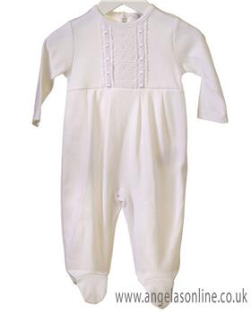 Bluesbaby unisex all-in-one RR0161-19 White