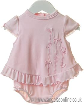 Brecrest Baby Girls Bubble RR0125-19 PINK