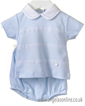 Blues baby boys top & shorts RR0147-19 Blue