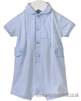 Bluesbaby boys romper RR0153-19 Blue