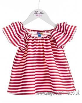 Rosalita Senorita girls blouse & capri leggings GRAPE-ORANGE 2-5
