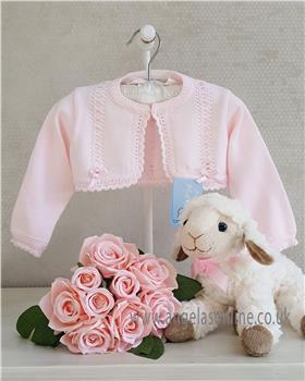 Granlei baby girls bolero cardigan 1-518-19 Pink