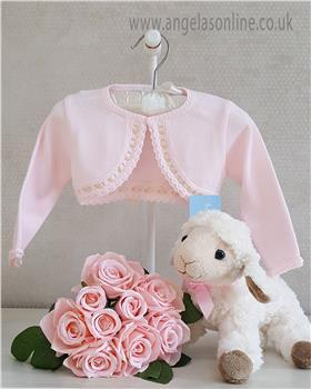 Granlei Baby Girl Bolero Cardigan 1-320 PK/CREAM