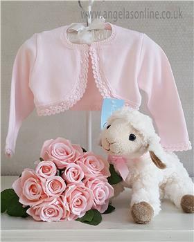 Granlei Baby Girl Bolero Cardigan 1-335-18 Pink