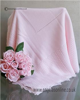 Granlei baby blanket 1-271-19 Pink