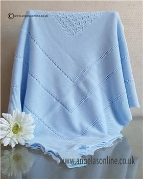 Granlei baby boys blanket 1-452-19 Blue