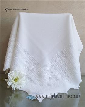 Granlei baby blanket 1-494-19 White