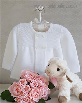 Granlei Baby Girl Long Cardigan 1-430-18 White