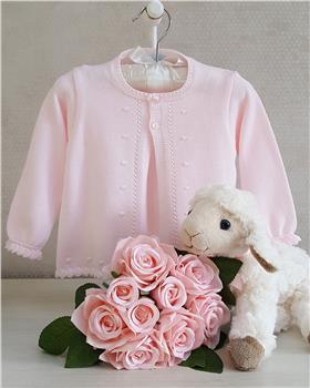 Granlei Baby Girl Cardigan 1-432-18 Pink