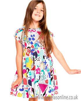 Deux par Deux girls dress A30L96